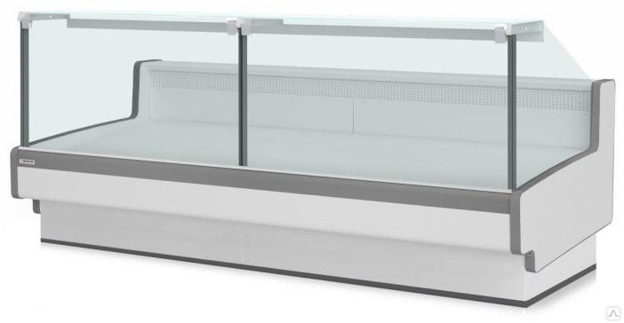 Холодильная витрина Aurora Slim SQ 374 рыба на льду