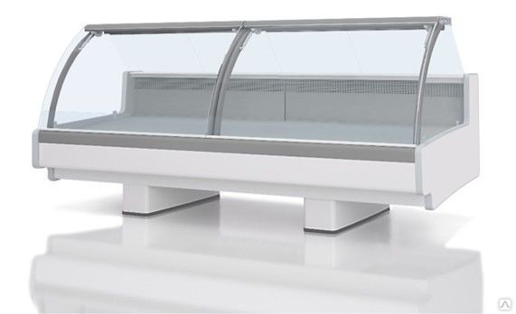 Холодильная витрина Aurora Slim SQ 125 рыба на льду Self