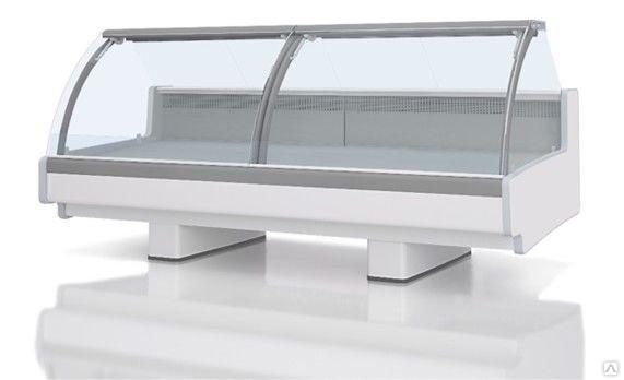 Холодильная витрина Aurora Slim SQ 375 рыба на льду Self