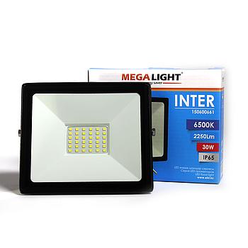 LED Прожектор INTER 30W 6500K IP65 MEGALIGHT(24)