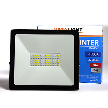 LED Прожектор INTER 50W 6500K IP65 MEGALIGHT(20)