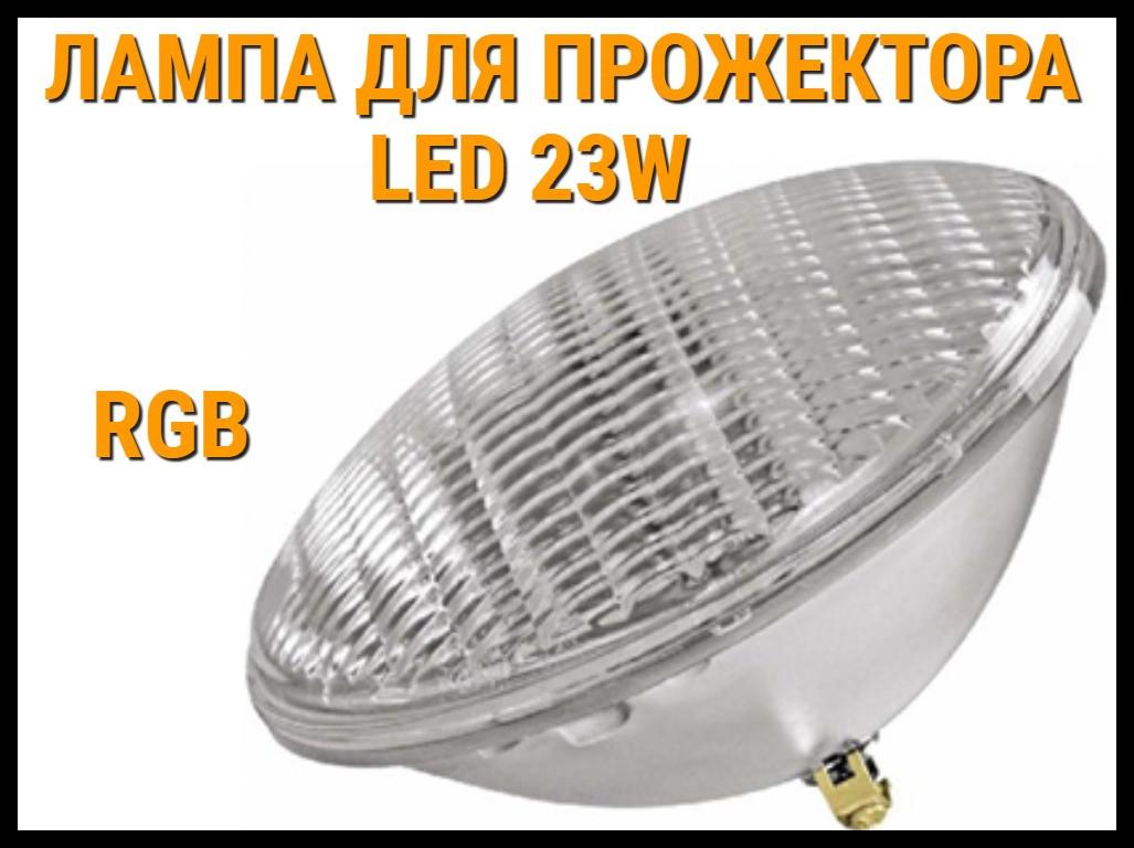 Лампа для прожектора Led 23W для бассейнов (RGB)