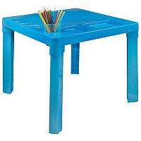 Стол детский 515х515х475 мм, Голубой, М1228