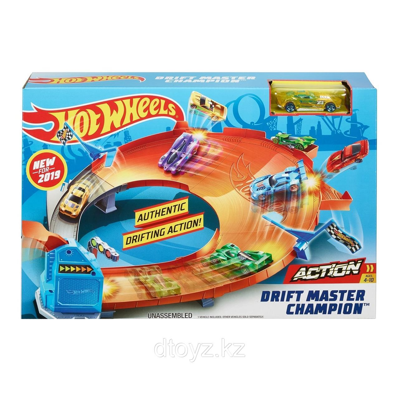 Hot Wheels Игровой набор Чемпион Мастер дрифта