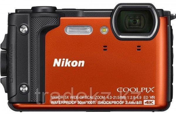 Фотоаппарат компактный Nikon COOLPIX W300 оранжевый, фото 2