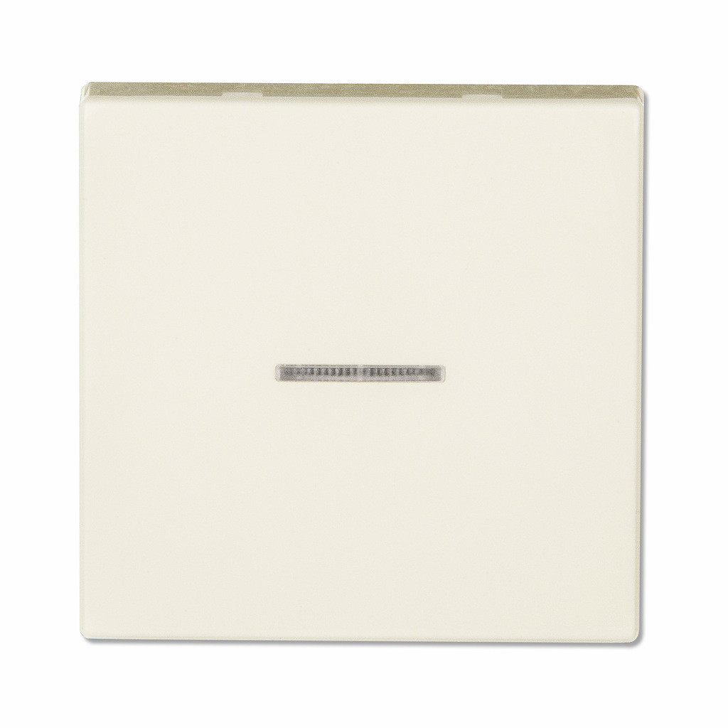 Клавиша с подсветкой для выключателя или кнопки (слоновая кость)