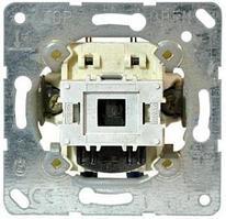 Контрольный выключатель10АХ, 250V универсальный (проходной) с лампой (арт.90)