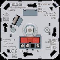 Роторный диммер (60-400) с нажимным включением для ламп накаливания 230V