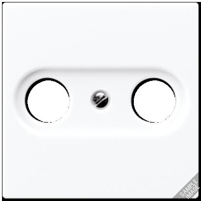 Крышка для розетки TV/FM (слоновая кость)