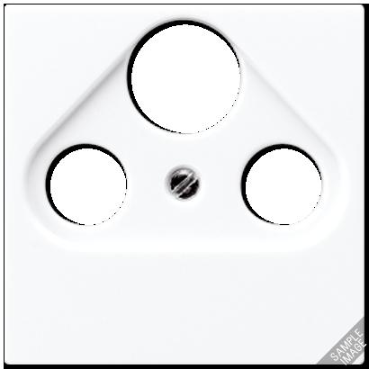 Крышка для розетки TV-SAT-FM (слоновая кость)