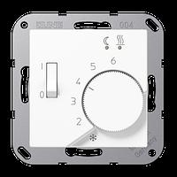 Крышка для регулятора температуры воздуха помещений (белый)