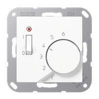 Крышка для регулятора температуры подогрева пола (белый)