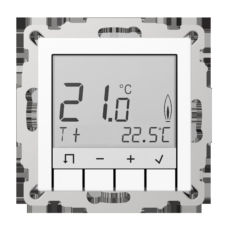 Регулятор температуры воздуха с таймером (белый)