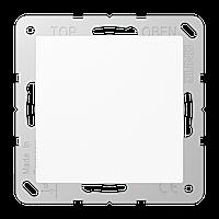 Заглушка с опорной пластиной (белый)
