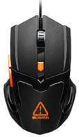 Мышь игровая Canyon CND-SGM02RGB (Black-Orange)