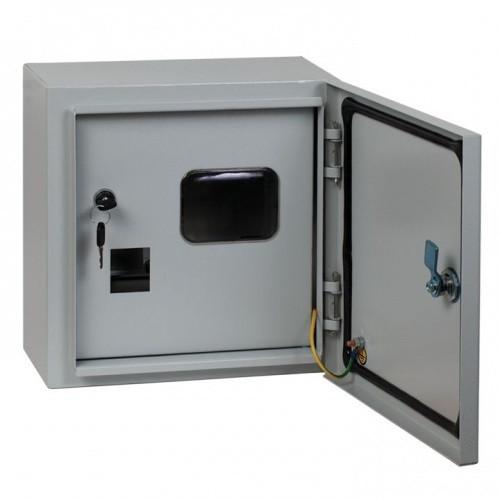 Щит учетно-распределительный навесной ЩУ 1/1-2-6 IP54 (310*310*160) 2-х дверный RUCELF