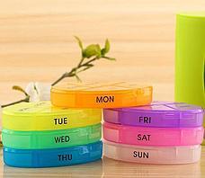 Органайзер для таблеток на 7 дней Pill Pro. Черная пятница!, фото 3