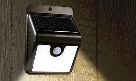 Светильник с датчиком движения на солнечной панели Ликвидация склада с летними товарами, фото 2