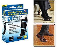 Носки антиварикозные Миракл Сокс, размер S/M (36-38). Черная пятница!, фото 2