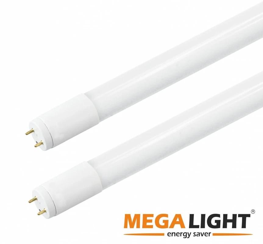 LED Лампа ECO T8  18w 1620Lm  230v 6500K G13 MEGALIGHT (30)