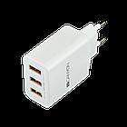 Сетевое зарядное устройство высокой мощности Canyon мульти-USB CNE-CHA05W (White)