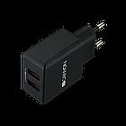 Легкий сетевой адаптер с двойным USB (CNE-CHA03B)