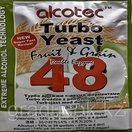 Спиртовые турбо дрожжи Alcotec Fruit & Grain 48 Turbo, фото 2