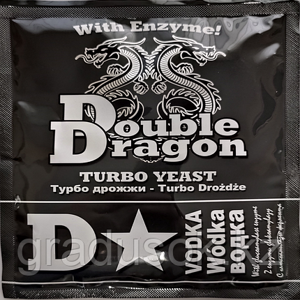 Спиртовые дрожжи DoubleDragon C Star Vodka Turbo Yeast, фото 2