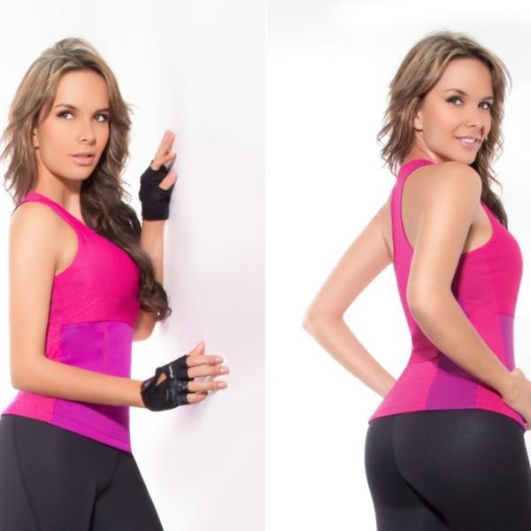 Майка для похудения Hot Shapers - размер S, цвет розовый. Черная пятница!