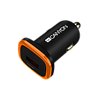 Универсальные автомобильные адаптеры Canyon с защитой от перенапряжения (CNE-CCA01B)