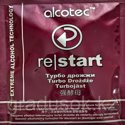 Дрожжи спиртовые Alcotec Re-Start, фото 2
