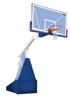 Стойка баскетбольная мобильная складная с механизмом