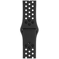 Оригинальный браслет/ремешок для Apple Watch 44mm Anthracite/Black Nike Sport Band S/M & M/L