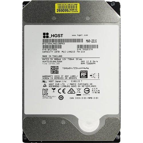 """Жесткий диск повышенной надежности HDD 10TB WD ULTRASTAR DC HC510 SAS 3.5""""256MB 7200RPM SAS ULTRA 51"""