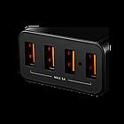 Сетевое зарядное устройство высокой мощности Canyon мульти-USB (CNE-CHA06B)