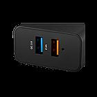 Сетевое зарядное устройство высокой мощности Canyon мульти-USB (CNE-CHA07B)