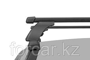 Багажная система LUX с дугами 1,2м прямоуг в пластике для Mazda 3 Hb 2003,2009, Mazda CX-7, CX-9, Kia Ceed, фото 3