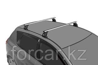 "Багажная система ""LUX"" с дугами 1,2м аэро-классик (53мм) для Mazda 3 Hb 2003, 2009, Mazda CX-7, CX-9, Kia Ceed, фото 3"