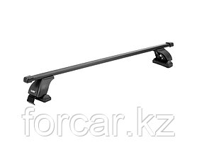 """Багажная система """"LUX"""" с дугами 1,1м прямоугольными в пластике для а/м Kia Piсanto Hatchback 2004+ г.в., фото 2"""