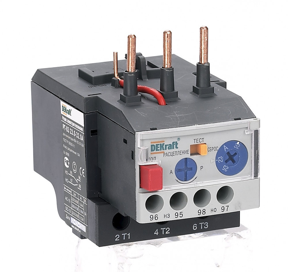Реле электротепловое РТ03-25-32-23.0А-32.0А /23122DEK/