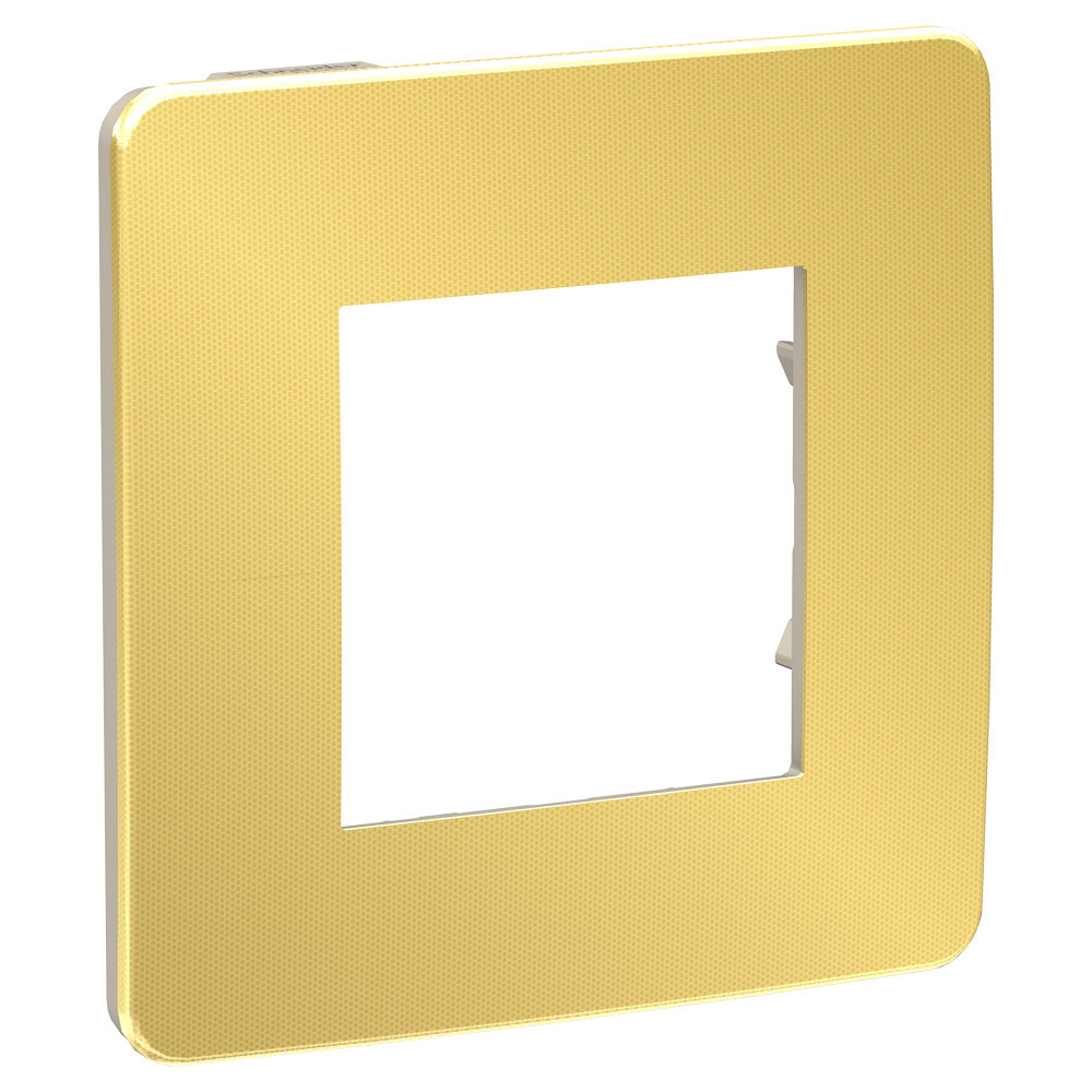 UNICA STUDIO рамка 1-пост, золото/беж /NU280260/