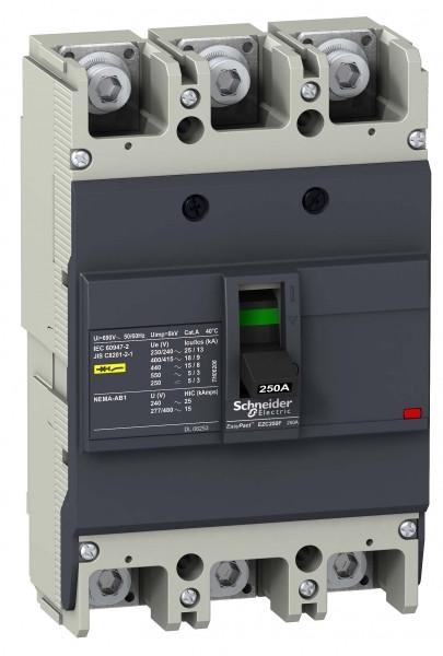 Авт.выкл-ль EZC250F 18kA/400V 3P 160A /EZC250F3160/