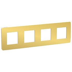 UNICA STUDIO рамка 4-поста, золото/беж /NU280860/