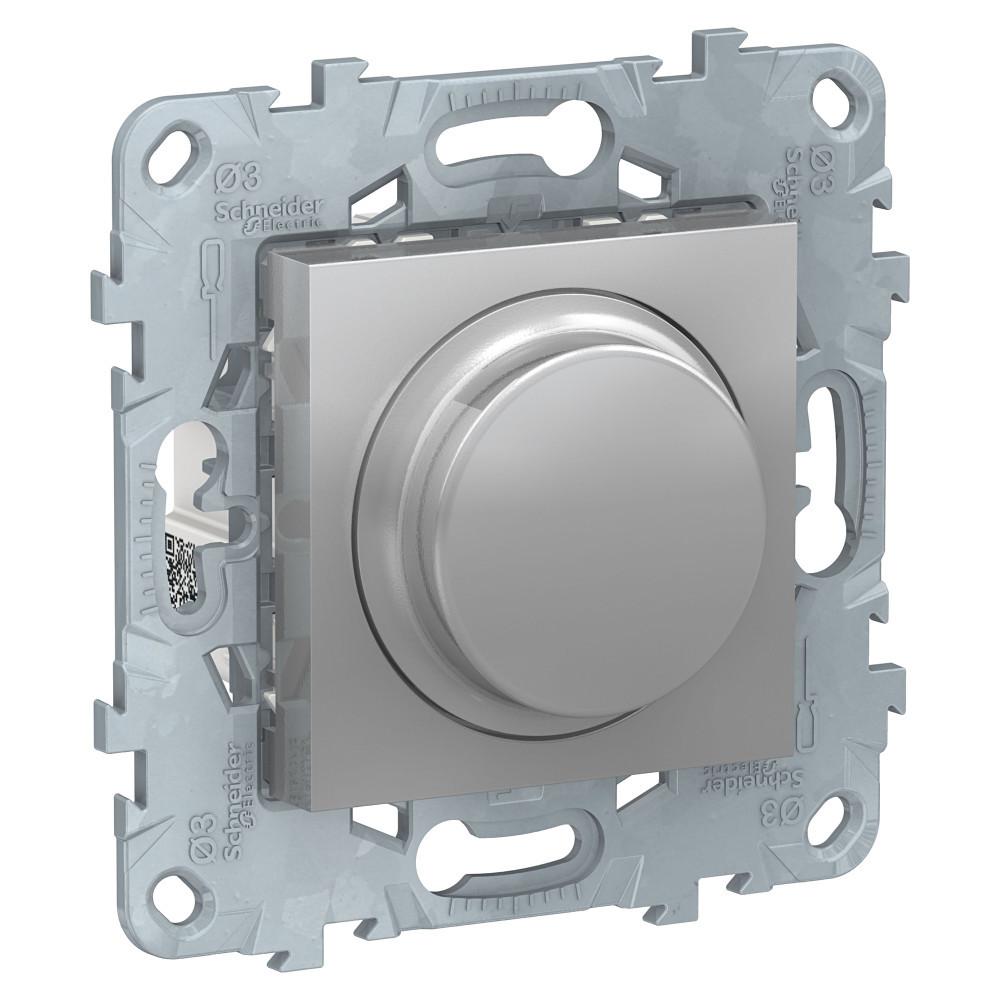 UN LED диммер повор-наж,универ, алюминий /NU551430/