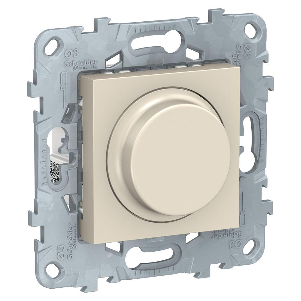 UN LED диммер повор-наж,универ, бежевый /NU551444/