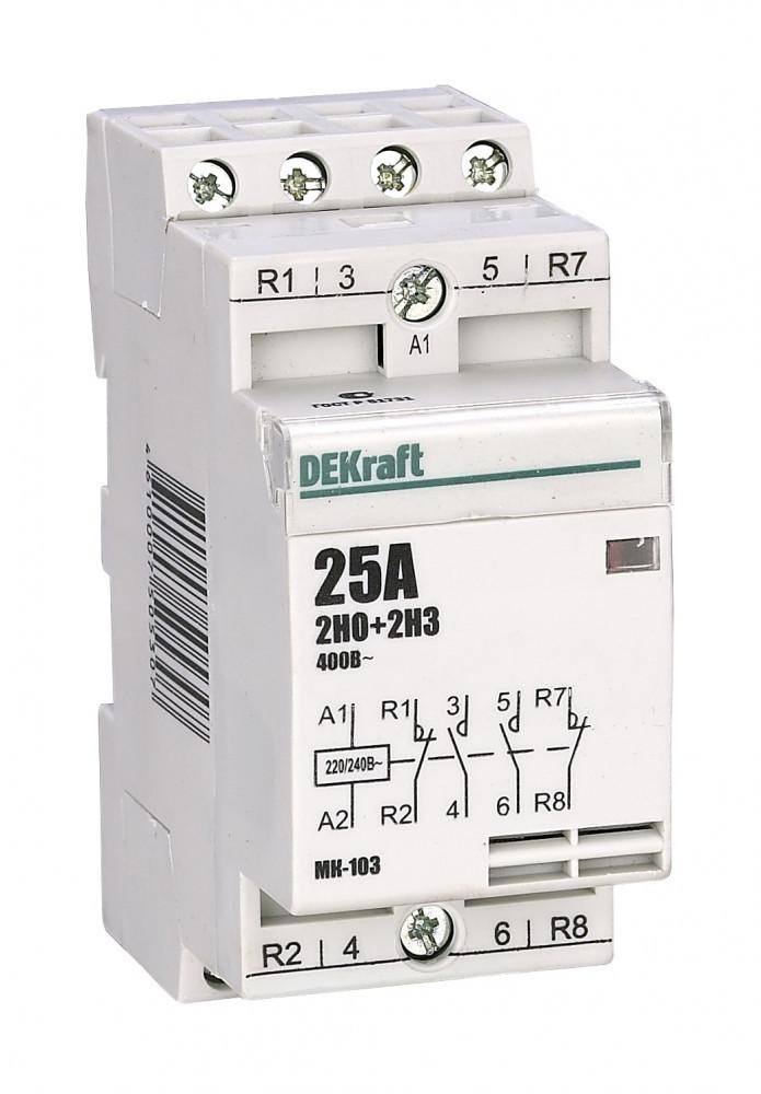 Модульный контактор MK103-016A-230B-22 /18055DEK/