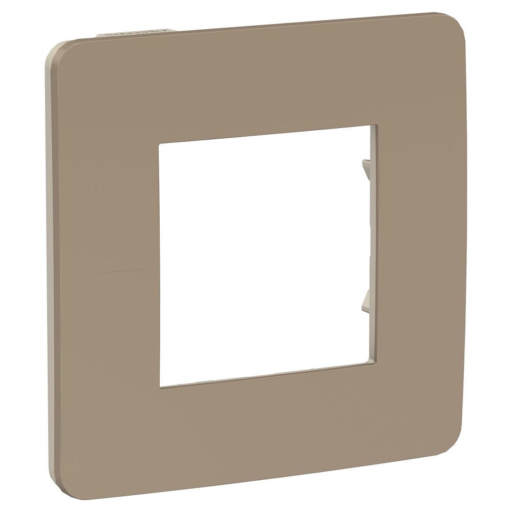 UNICA STUDIO рамка 1-пост, песочный/беж /NU280227/