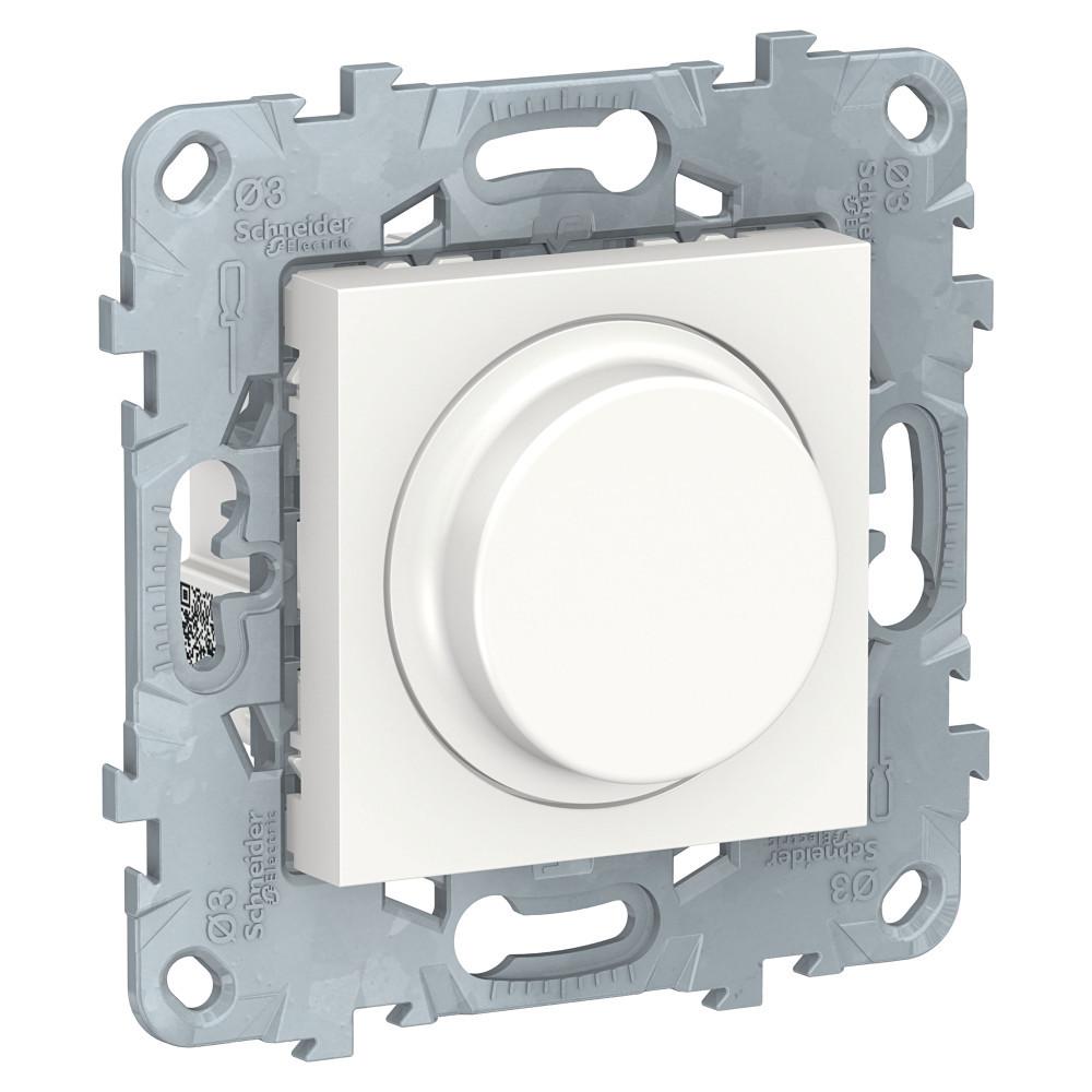 UN LED диммер повор-наж, универ, белый /NU551418/