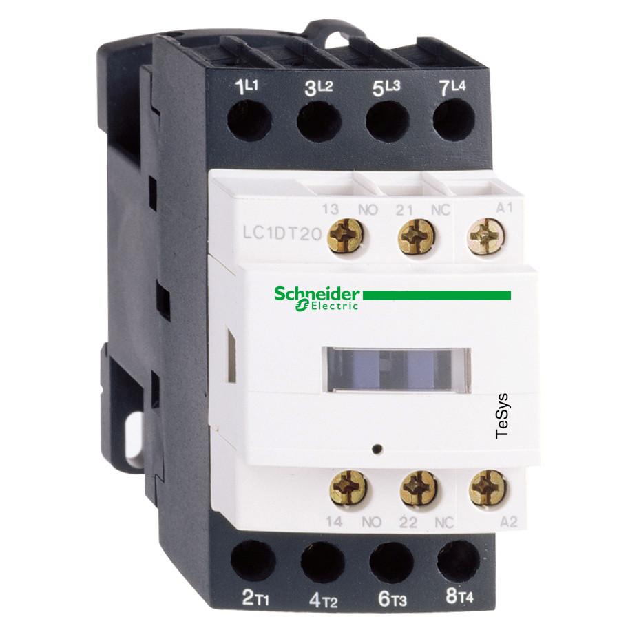 Контактор 4Р (4НО), АС1.25А, HO+H3 230V50ГЦ /LC1DT25P7/