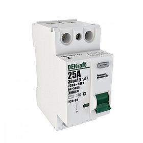 Выключатель диф.тока УЗО 03-2Р-016А-030 /14053DEK/
